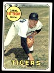 1969 Topps #101  Daryl Patterson  Front Thumbnail