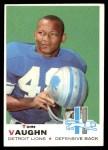 1969 Topps #214  Tom Vaughn  Front Thumbnail