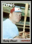 1970 Topps #585  Rusty Staub  Front Thumbnail