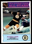 1975 Topps #288   -  Bobby Orr First Team All-Stars Front Thumbnail