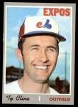 1970 Topps #164  Ty Cline  Front Thumbnail