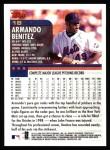 2000 Topps #18  Armando Benitez  Back Thumbnail