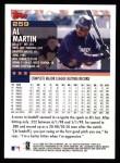 2000 Topps #259  Al Martin  Back Thumbnail