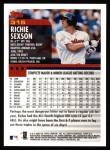 2000 Topps #315  Richie Sexson  Back Thumbnail