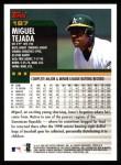 2000 Topps #187  Miguel Tejada  Back Thumbnail