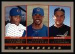2000 Topps #207   -  Lance Berkman / Corey Patterson / Roosevelt Brown Prospects Front Thumbnail