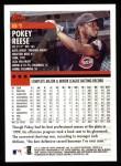 2000 Topps #81  Pokey Reese  Back Thumbnail