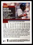 2000 Topps #352  Edgar Renteria  Back Thumbnail