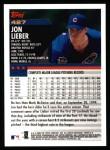 2000 Topps #427  Jon Lieber  Back Thumbnail