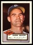 1952 Topps REPRINT #390  Rocky Nelson  Front Thumbnail