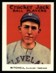 1915 Cracker Jack Reprint #62  Willie Mitchell  Front Thumbnail