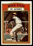 1972 Topps #180   -  Dock Ellis In Action Front Thumbnail