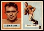 1957 Topps #143  Jim Cason  Front Thumbnail