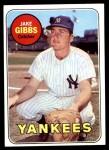 1969 Topps #401  Jake Gibbs  Front Thumbnail
