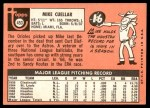1969 Topps #453  Mike Cuellar  Back Thumbnail