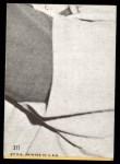 1968 Topps #377   -  Joe Horlen All-Star Back Thumbnail