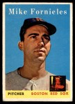 1958 Topps #361  Mike Fornieles  Front Thumbnail