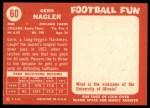 1958 Topps #60  Gern Nagler  Back Thumbnail