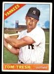 1966 Topps #205  Tom Tresh  Front Thumbnail