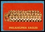 1963 Topps #121   Eagles Team Front Thumbnail