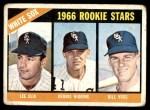 1966 Topps #529   -  Lee Elia / Dennis Higgins / Bill  Voss White Sox Rookies Front Thumbnail