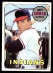 1969 Topps #325  Jose Cardenal  Front Thumbnail