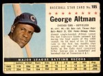 1961 Post #195 COM George Altman   Front Thumbnail