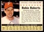 1961 Post #117 COM Robin Roberts   Front Thumbnail