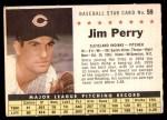 1961 Post #59 COM Jim Perry   Front Thumbnail