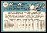 1965 Topps #584  Harry Bright  Back Thumbnail