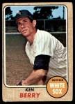 1968 Topps #485  Ken Berry  Front Thumbnail