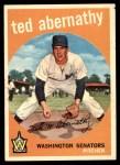 1959 Topps #169  Ted Abernathy  Front Thumbnail
