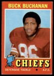 1971 Topps #13  Buck Buchanan  Front Thumbnail