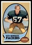 1970 Topps #79  Ken Bowman  Front Thumbnail