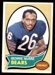 1970 Topps #134  Bennie McRae  Front Thumbnail