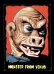 1964 Topps / Bubbles Inc Outer Limits #12   Monster From Venus Front Thumbnail