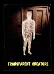 1964 Topps / Bubbles Inc Outer Limits #3   Transparent Creature  Front Thumbnail