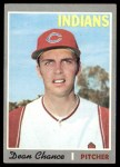1970 Topps #625  Dean Chance  Front Thumbnail