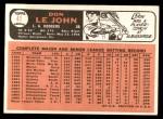 1966 Topps #41  Don LeJohn  Back Thumbnail