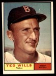 1961 Topps #548  Ted Wills  Front Thumbnail