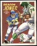 1970 Topps Poster #8  Deacon  Jones  Front Thumbnail