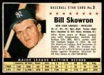1961 Post #3 BOX Bill Skowron   Front Thumbnail