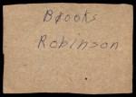 1961 Post #138 BOX Smoky Burgess  Back Thumbnail