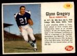 1962 Post #134  Glynn Gregory  Front Thumbnail
