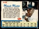1962 Post #51  Minnie Minoso   Front Thumbnail