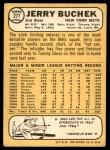 1968 Topps #277  Jerry Buchek  Back Thumbnail