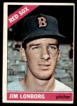 1966 Topps #93  Jim Lonborg  Front Thumbnail