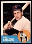 1963 Topps #188  Eddie Bressoud  Front Thumbnail