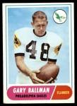 1968 Topps #58  Gary Ballman  Front Thumbnail