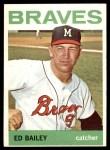 1964 Topps #437  Ed Bailey  Front Thumbnail